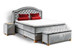 Zestaw Łóżka kontynentalnego Royal Lux Crystal