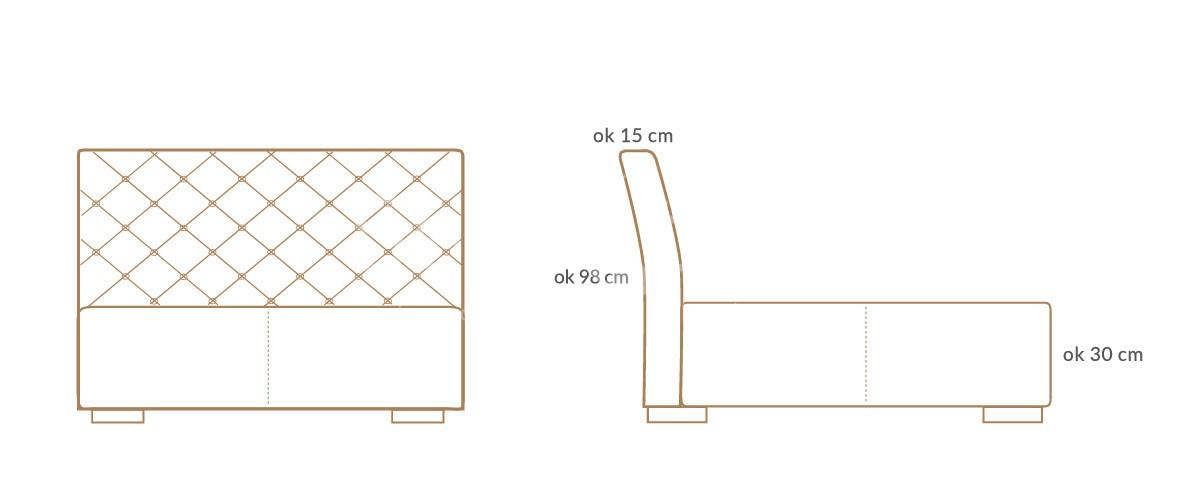 lozko tapicerowane caro premium wymiary 01