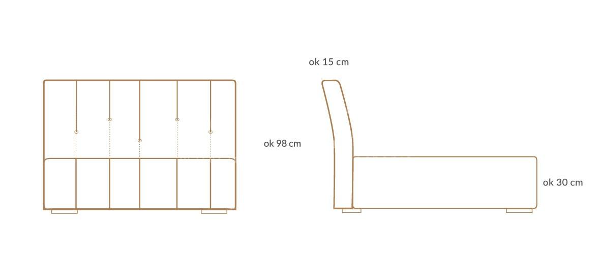 lozko tapicerowane elegance premium wymiary 01