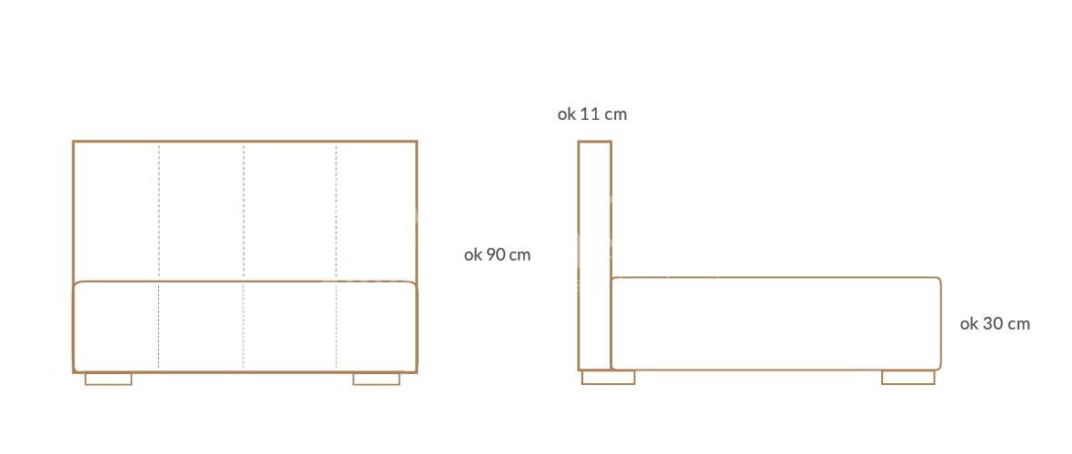 lozko tapicerowane infinity wymiary 01