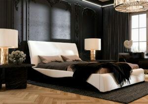 lozko tapicerowane modern premium