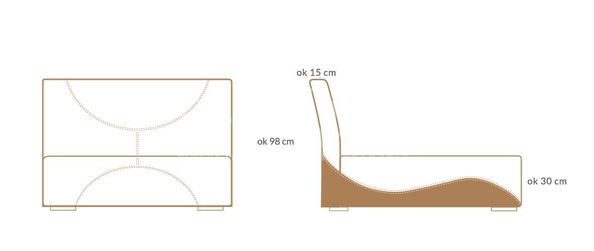 lozko tapicerowane modern premium wymiary 01