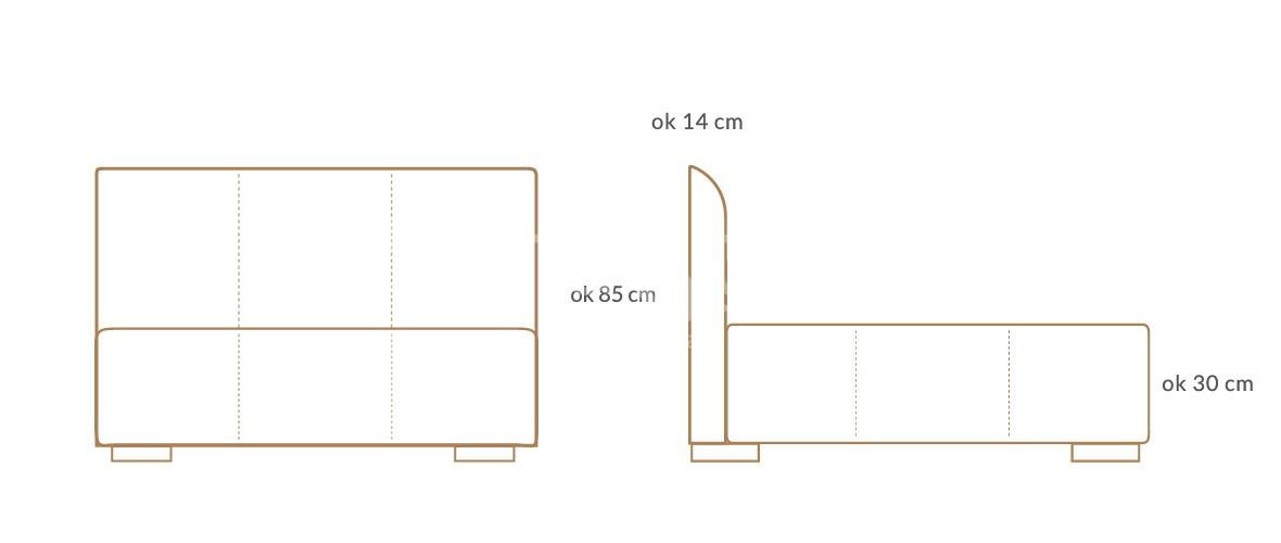 lozko tapicerowane prime wymiary 01