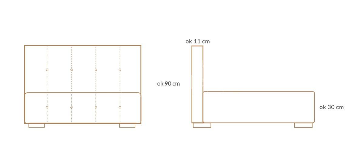 lozko tapicerowane simple wymiary 01