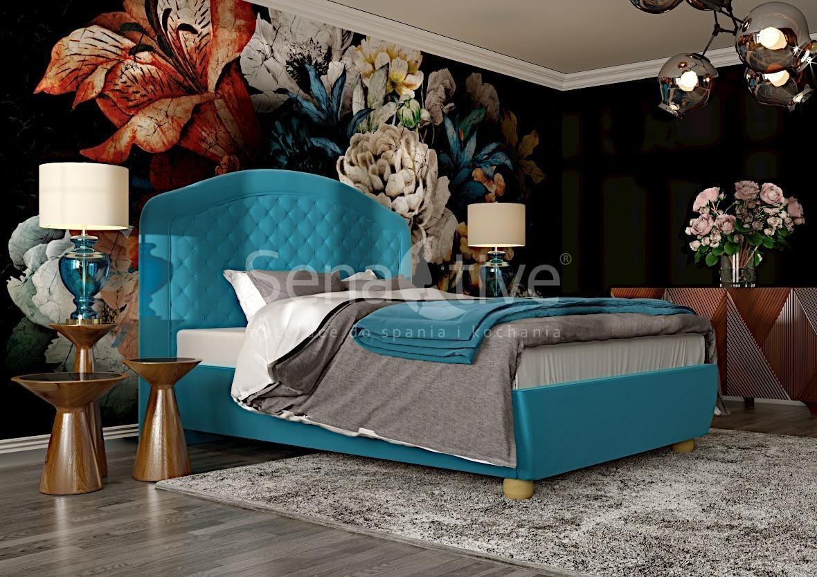 Łóżko tapicerowane od Senactive