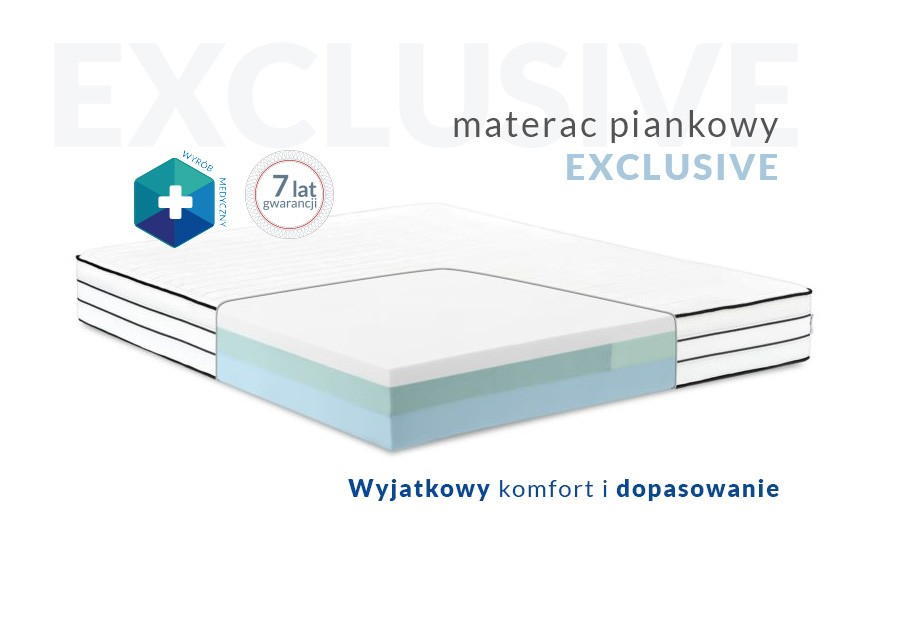 Materac piankowy Senactive Exclusive